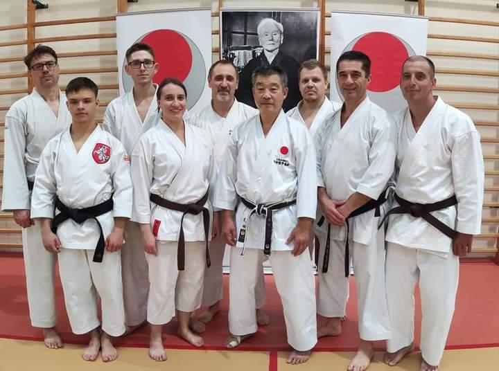 Kachi na stażu technicznym z sensei Yoshinobu Ohta 7 dan JKA